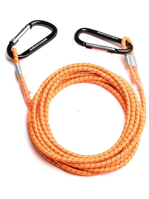 Swimrunners Support Pull Belt 3 meter Neon Orange